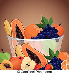 harvest fruit bowl healthy