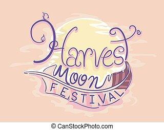 Harvest Moon Festival Illustration