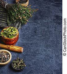 Harvest of medicinal plant