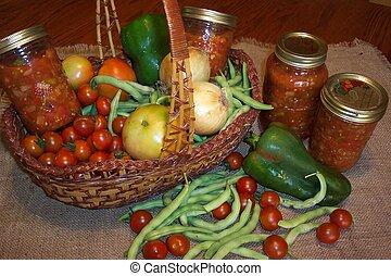 Harvest preserves - Fruits of labour!