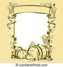 Harvesting Vintage frame