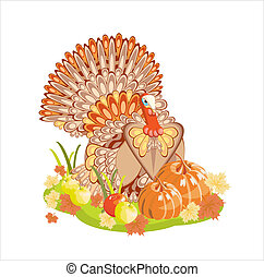 Harvest/Thanksgiving Turkey