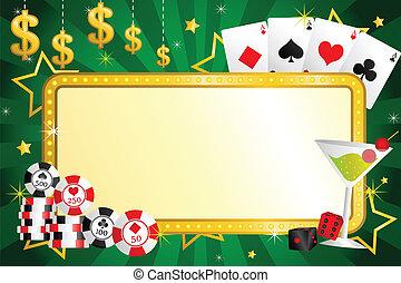 hasardspel, bakgrund