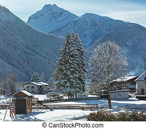 Haselgehr village (Austria, Tirol)
