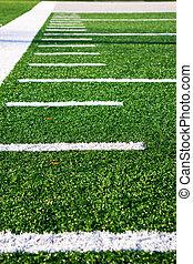 Hash marks Football Field