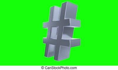 Hash tag hashtag rotate tweet twitter social media network...