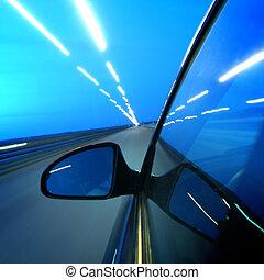 hastighed, transport