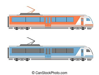 hastighet, hög, tåg