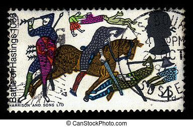 hastings, bayeux, tappezzeria, battaglia