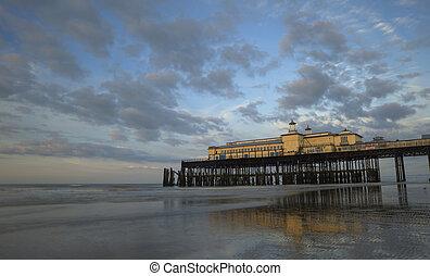 Hastings Pier at Sunrise