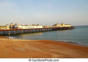 Hastings pier, England