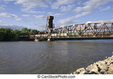 Hastings Railroad Lift Bridge