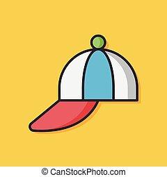 hat cap vector icon