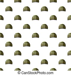 Hat pattern seamless