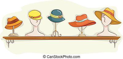 Hat Shelf Display