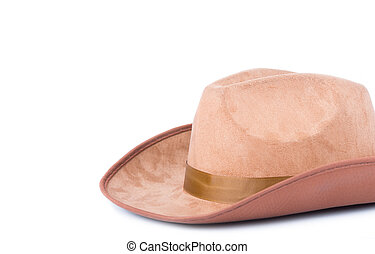 Hat with white background