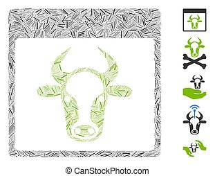 Hatch Collage Cow Page Icon