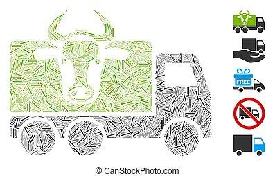 Hatch Collage Cow Transportation