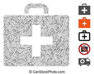 Hatch Mosaic First Aid Bag Icon