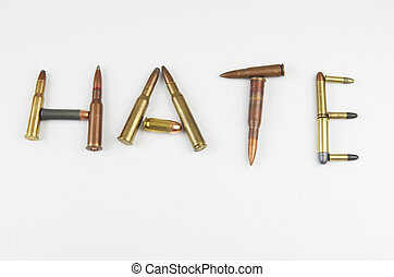 Hate Written With Bullets