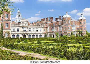 hatfield, 房子, hertfordshire, england