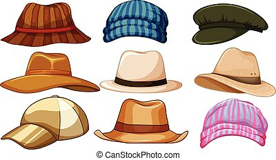 Hats - Different kind of hipster hat