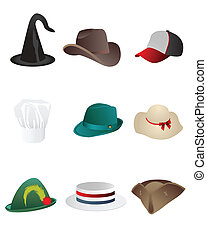 hats, hat, icons