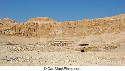 hatshepsut, 女王, 寺院, 死体仮置き場