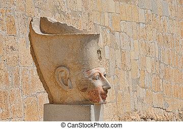 Hatshepsut near Luxor in Egypt - The temple of Hatshepsut...