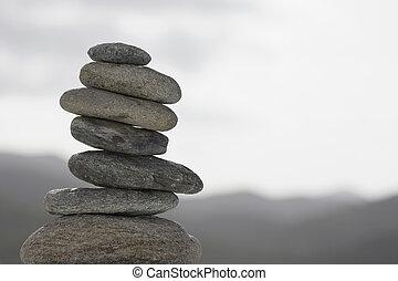 haufen , von, steine