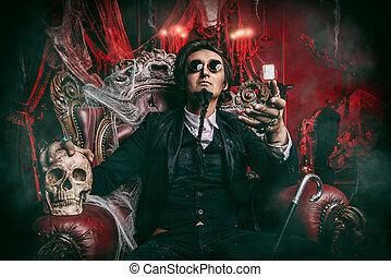 haughty vampire aristocrat