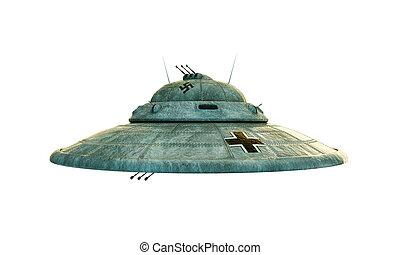 haunebu, 纳粹, ufo