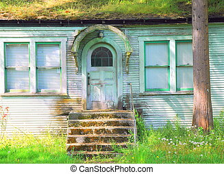 Haunted house.