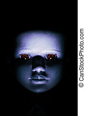 Haunting Child's Doll Face - Haunting child's doll face ...