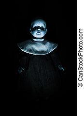 Haunting Child's Doll Figure