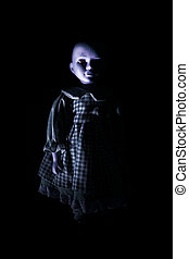 Haunting Child's Doll Figure - Haunting child's doll figure ...