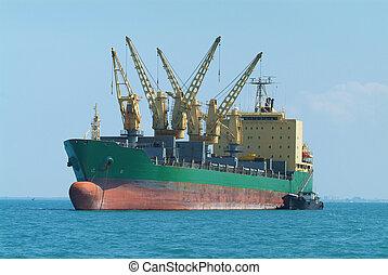 hauptteil, schiff, schiffsanker