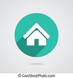 real estate haus abstrakt countryside immobilien logo icon echte geb ude gut. Black Bedroom Furniture Sets. Home Design Ideas