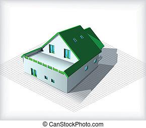 haus bauplaene blaupause vielfalt haus wohnhaeuser clipart vektor suchen sie nach. Black Bedroom Furniture Sets. Home Design Ideas