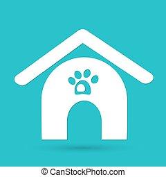 haus, hunde ikone