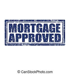 hausfinanzierung, approved-stamp