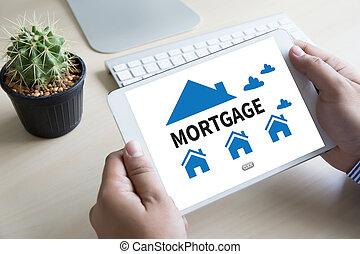 hausfinanzierung, eigenschaft, real estate, daheim, bezahlung, darlehen- zahlung
