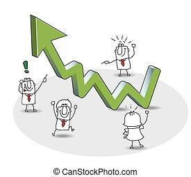haut, grows, business