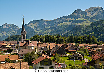 Haut-Intyamon is a little town in Fribourg Switzerland