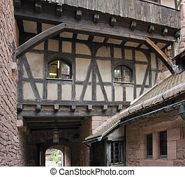 haut-koenigsbourg, 城堡, 细节