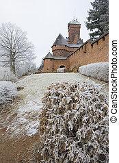 Haut-Koenigsbourg Castle - Haut-Koenigsbourg Castle, Alsace,...
