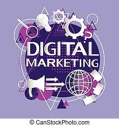 haut-parleur, affaires enchaînement, commercialisation, appareil numérique, porte voix, icône