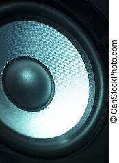 haut-parleur, maison, boîte nuit, ibiza, orateur, fête, musique