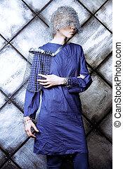 haute couture - Avant-garde. Fashionable designer collection...