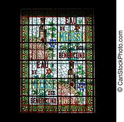 haute-normandie, settentrionale, palazzo, museo vetro,...